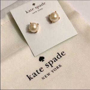 Kate Spade faux pearl studs